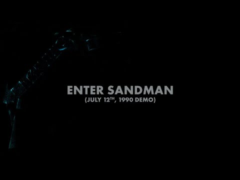Metallica: Enter Sandman (July 12th, 1990 Demo) (Audio Preview)