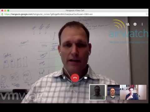 Airwatch Roundtable Session 01