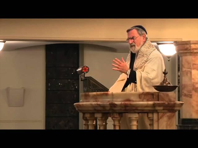 Chief Rabbi Lord Sacks' pre-Selichot address