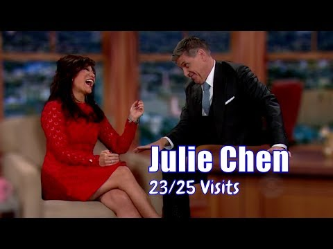 Julie Chen - Is Married To Craig's Boss - 23/25 Visits In Ch