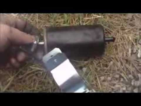 How To Change A Fuel Filter (Dodge Dakota) - YouTube