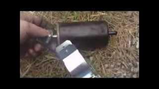 how to change a fuel filter (dodge dakota) - youtube  youtube