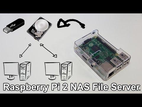 Low End Tech - Raspberry Pi 2 NAS File Server with Webmin