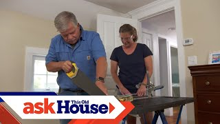 How to Patch a Chipped Wood Floor | Ask This Old House