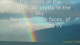 Download lagu Somewhere Over the Rainbow by Israel Kamakawiwo'ole LYRICS