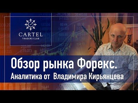 💹 Обзор рынка форекс с Владимиром Кирьянцевым. Прогнозирую рынок на 21.10