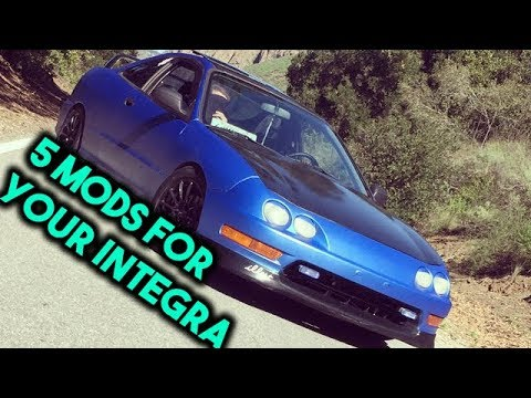 My Top Favorite Mods For The Acura Integra YouTube - Acura integra mods