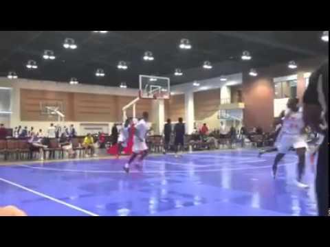 6'7 Small Forward Jordan Gaines - Peach State Summer Showcase in Augusta