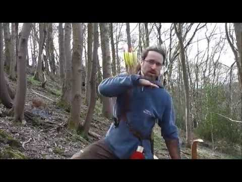Instinctive archery - Basic shooting up and down hill