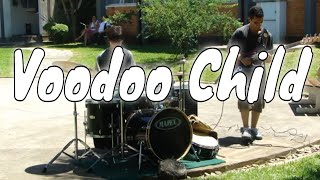 Duo Drum and Bass - Voodoo Child (Jimi Hendrix)