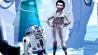 STAR WARS FORCES OF DESTINY First Look (2017) New Star Wars Animated Series