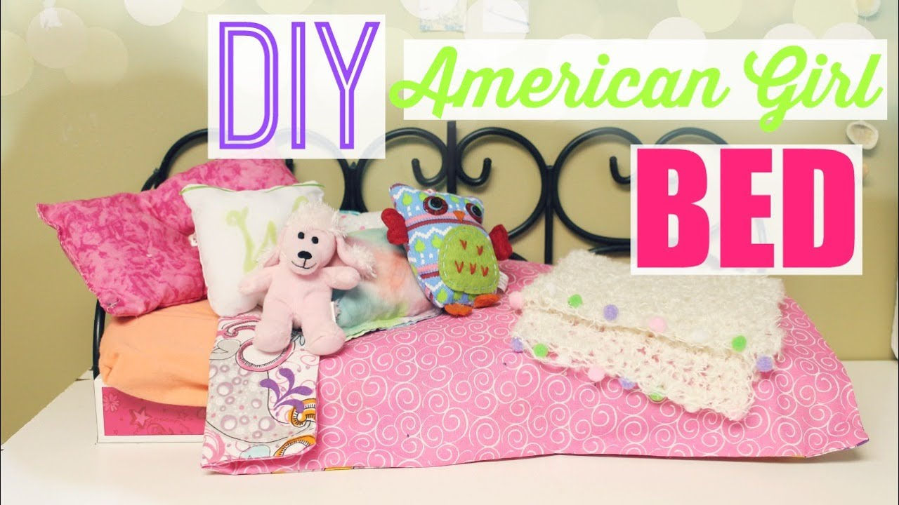 American Girl Doll Videos How To Make A Room