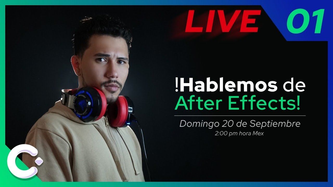 HABLEMOS de After Effects 🔴 LIVE 01