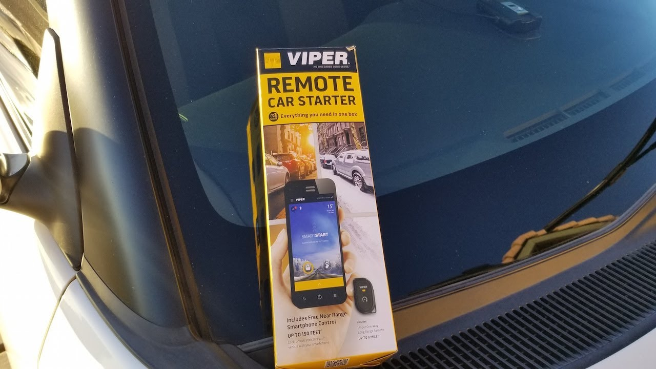 Viper Ds4 Remote Start System