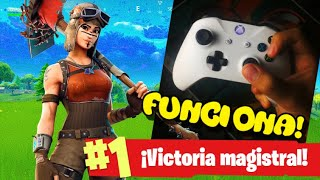 COMO AGARRAR el MANDO en FORTNITE - PS4 , XBOX ONE , SWITCH