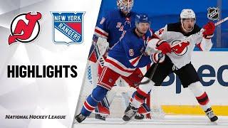NHL Highlights | Devils @ Rangers 1/19/21