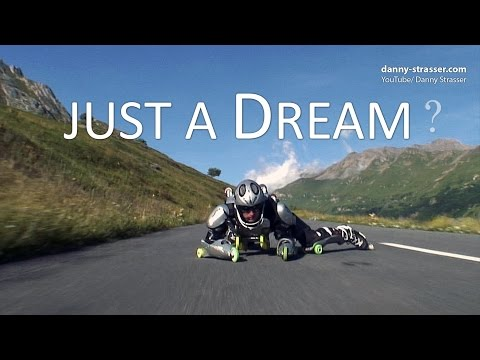 Rollerman - crazy downhill in the French Alps!