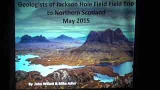 The Birthplace of Modern Geology 2015 GJH Field Trip to Scotland