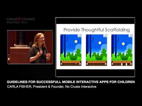 Guidelines for Successful Mobile Interactive Apps for Children | Carla FISHER