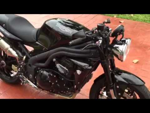 2009 Triumph Speed Triple For Sale Youtube