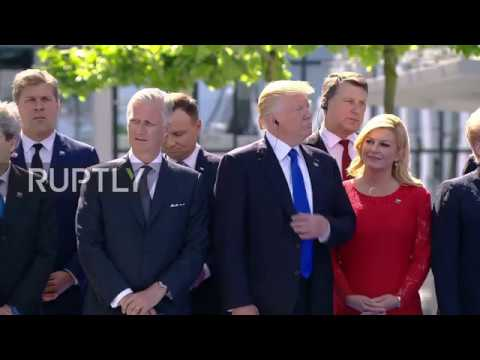 Belgium: Trump demands all NATO members 'meet financial obligations'