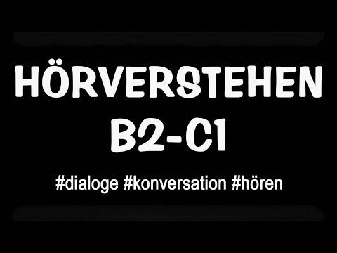 Deutsche Dialoge für Stufe B2-C1 - Deutsch Lernen Online