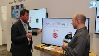 RCA - 55in Curved RTUC5537 & 50in RLDED5098UHD Affordable 4K TVs  - CES 2017 - Poc Network