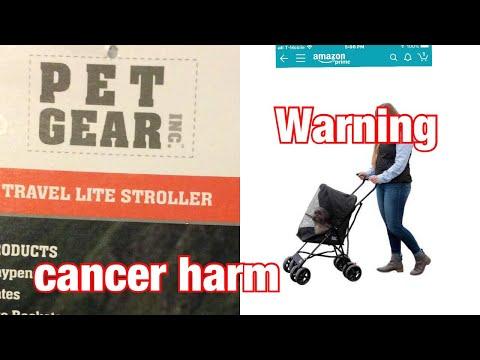 Pet Gear stroller from Amazon/ WARNING ⚠️ CANCER HARM Prop65 (ultra lite)