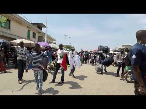 Driving around Cotonou July 2018