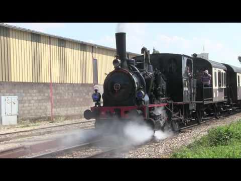 Le Ried Express à Volgelsheim : promenade en train touristique  reportage TLB mai 2016