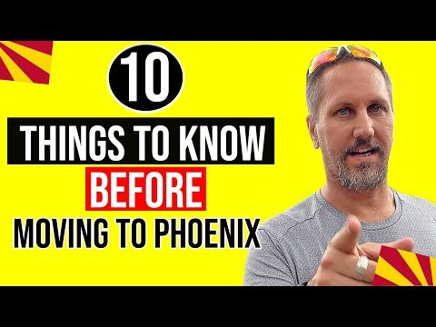 10 Things You Need To Know Before Moving To Phoenix, Arizona: Living In Arizona