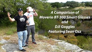 Drone Flying With Moverio BT-300 Smart Glasses [Feat. Sean Ozz]