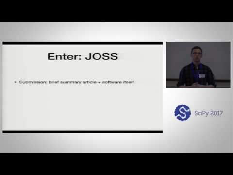 Introducing JOSS   The Journal of Open Source Software | SciPy 2017 | Kyle Niemeyer