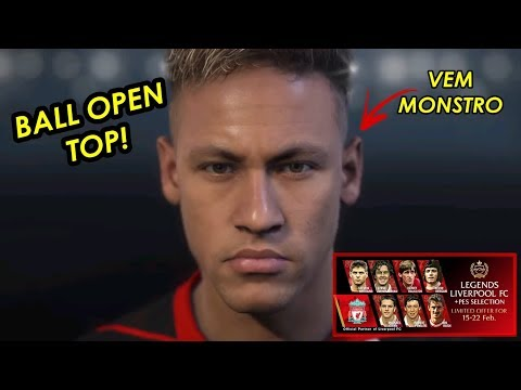 PES 2018 myClub || TIREI O NEYMAR NO AGENTE DO LIVERPOOL!!!  || BALL OPEN + COPA DO DESAFIO ONLINE