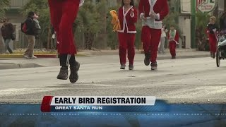 Early bird registration opens for Las Vegas Great Santa Run