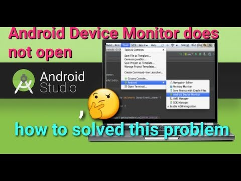 Android Device Monitor does not open how to solve