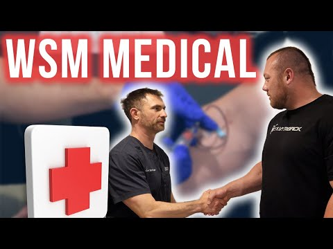 MY WORLD'S STRONGEST MAN MEDICAL!!