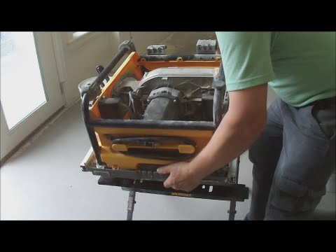 How to repair dewalt table saw stuck blade mryoucandoityourself how to repair dewalt table saw stuck blade mryoucandoityourself youtube greentooth Choice Image