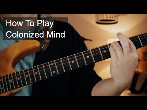 Colonized Mind Chords - Prince Guitar Lesson
