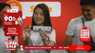 ARVENA : Air Asia SUPERSALE Live Streaming