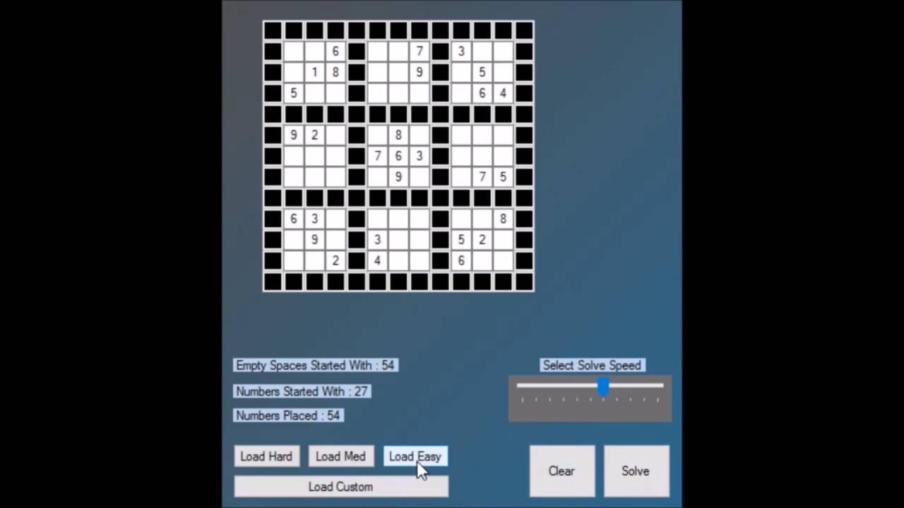 sudoku solver youtube