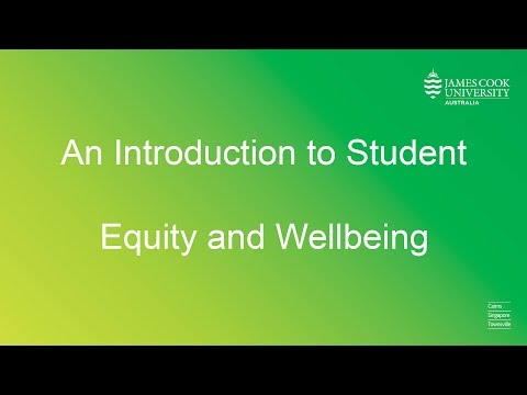 An introduction to JCU Student Equity and Wellbeing