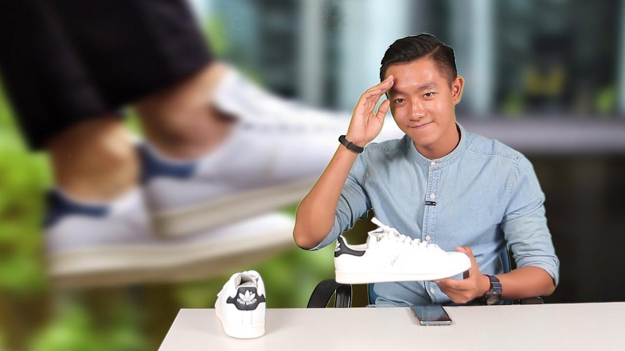 Mở hộp và on feet giày Adidas Stan Smith Vintage : Nét hoài cổ vốn có của 1 mẫu sneaker huyền thoại