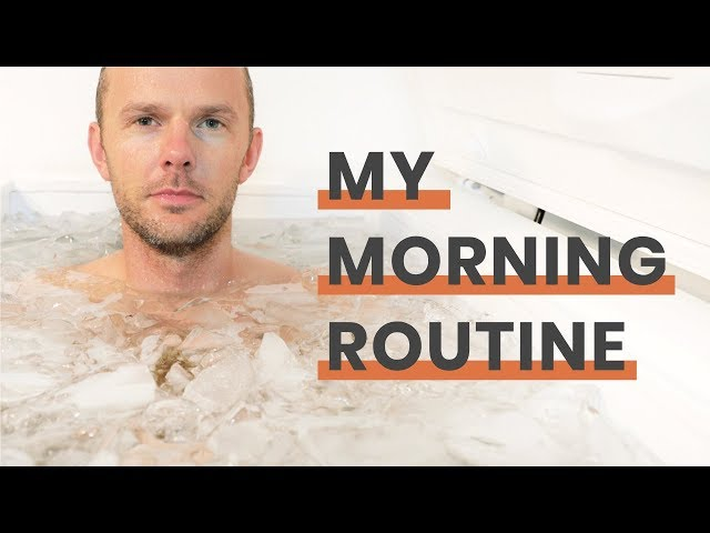 My Morning Routine with Ice Bath, Meditation, Deep Breathing and more. Wim Hof inspired.