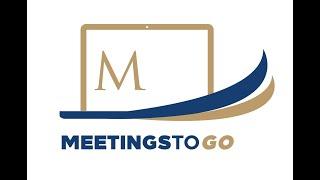 Meetings To Go by Conrad Manila