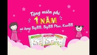 HOT! TẶNG 1 NĂM SỬ DỤNG MIỄN PHÍ BIGBB/ BIGBB PLUS/ KAOBB!