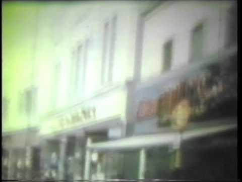 A 1960s cine film  of mansfield
