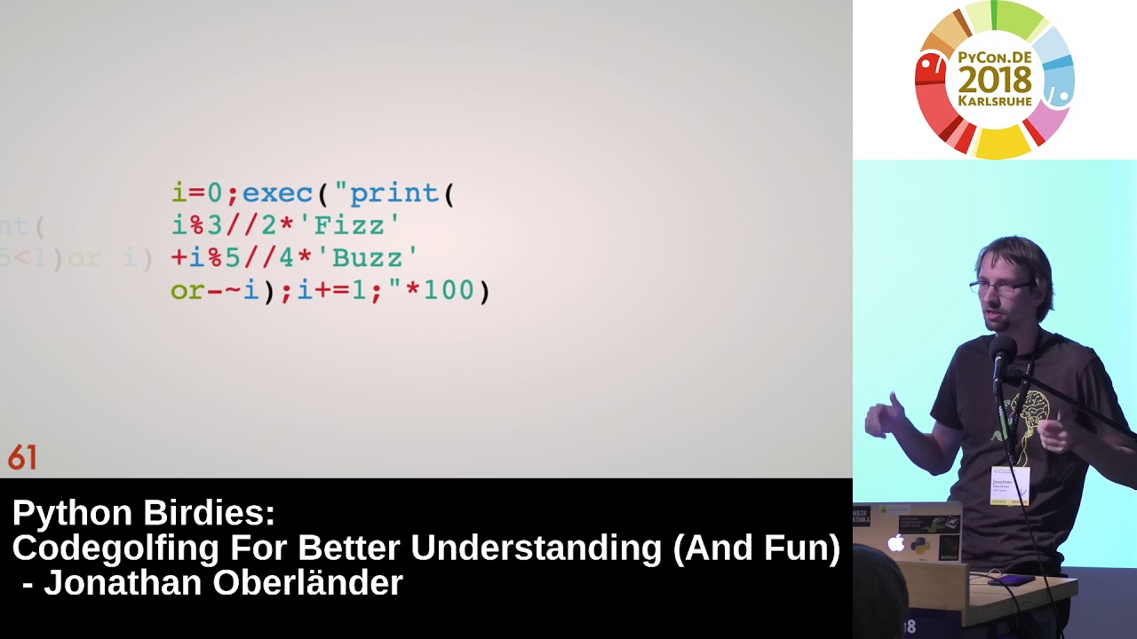 Image from Python Birdies: Codegolfing for better understanding (and fun)