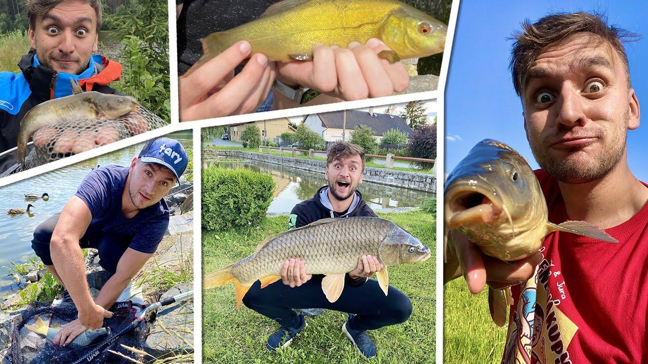 Unboxing rybářského vybavení a nezveřejněné úlovky! | Chytám ryby jak Pokémony!