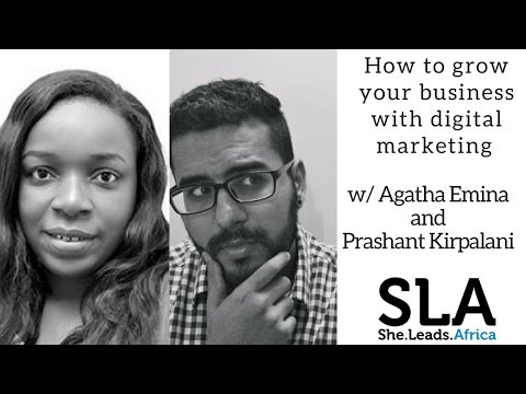 She Leads Africa Webinar with Wild Fusion: How to grow your business with digital marketing